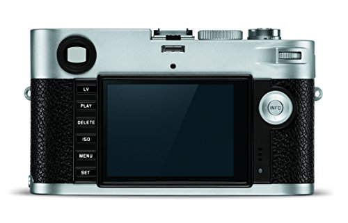 Leica 10772 M-P (Typ 240) 24MP SLR Camera with 3-Inch LCD (Silver Chrome)