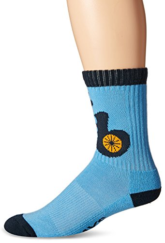 MLB Tampa Bay Rays Men's Bolt Sport Casual Dress Crew Socks (1 Pack), Medium, Columbia