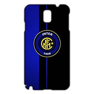 Inter Logo Phone Case for Samsung Galaxy Note 3 3D Hard Black Plastic Cover