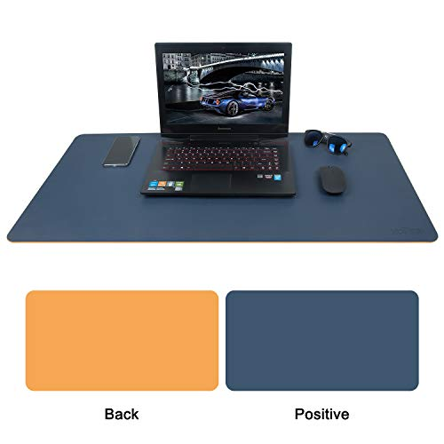 - Zofine Large Gaming Mouse Pad, Desktop Mat Protector for Desk/Laptop/Mouse Two-Tone (35.4