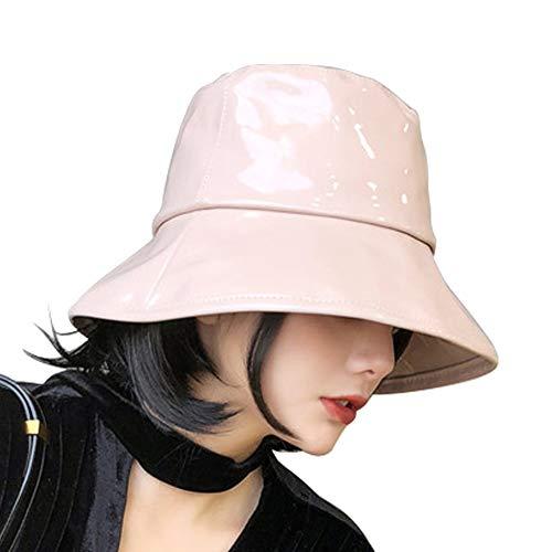 6eb977bfe Women's Rain Hats Waterproof Rain Hat Wide Brim Bucket Hat Rain Cap (Khaki)