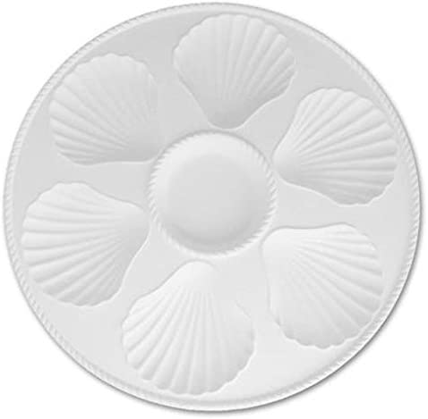 Paint Your Own Ceramic Keepsake Sectional Shell Oyster Serving Platter