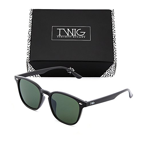 de TWIG Verde Gafas espejo Negro degradadas FRIDA sol Oscuro mujer SaqnxwC