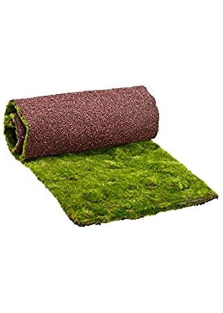 Nice Artificial Moss Table Runner In Green   50.5u0026quot; Long X 13.5u0026quot; ...