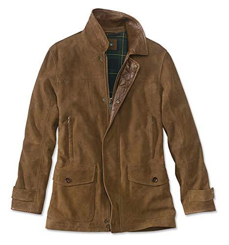 Orvis Men's Riverton Leather Jacket, Large ()