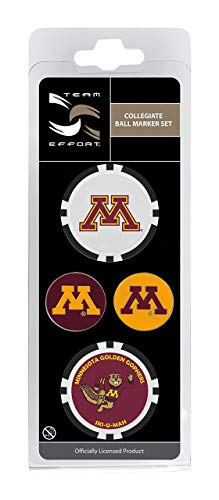 Team Effort Minnesota Golden Gophers Ball Marker Set (Renewed)
