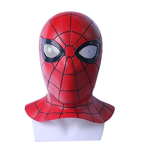 Avengers: Infinity War Spider-Man Cosplay Latex Mask Halloween Fancy Ball -