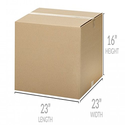 Uboxes Brand Box Bundles: (10 Pack) X-Large Moving Boxes 23''x23''x16''