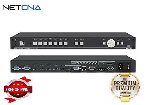(Kramer VP-734 - video/audio switch - rack-mountable - By NETCNA )