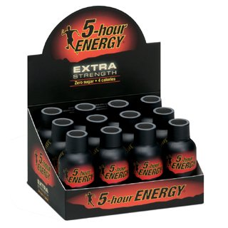 5-Hour Energy Extra Strength (24 bouteilles de raisin)