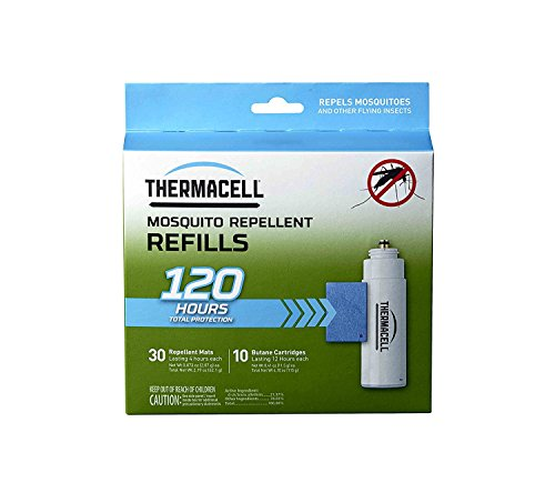 Thermacell MR-9L Outdoor Mosquito Repeller plus Lanterns (3) & 3 Mega Pack Refill Sets: 72 Mats & 30 Cartridges by Thermacell (Image #1)