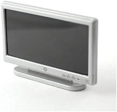 SA-Dollshouse D1164 Fernseher Flat TV 42 silber 1:12 f/ür Puppenhaus