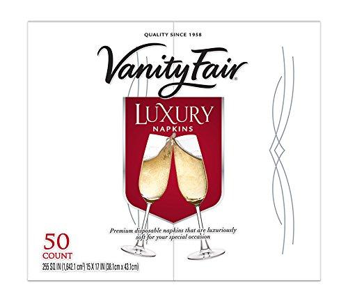 Vanity Fair Napkins Cloth like Disposable
