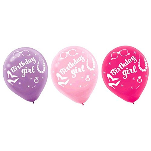 Printed Latex Balloons - Doll | Barbie Sparkle Collection | Birthday]()