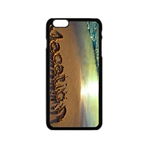 Beach Love For You Hight Quality Plastic Case for Iphone 6