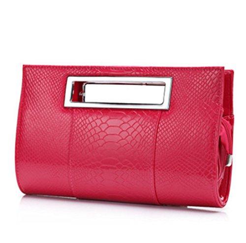 Casual Clutch Evening Small Party Bag Alligator Bag Shoulder Designer Bag Rose Bags Bags Small rrxwB6qCR