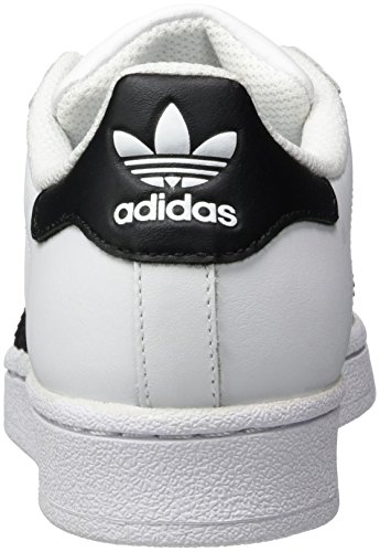 adidas Originals Superstar, Zapatillas Unisex Niños Blanco (Ftwr White/Core Black/Ftwr White)