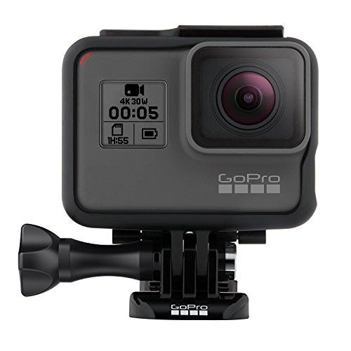 (Renewed) GoPro HERO5 Black Waterproof Digital Action Camera w/ 4K HD Video & 12MP Photo