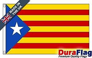 Estelada catalana de independencia de Duraflag®, bandera de calidad profesional, 3ft x 2ft