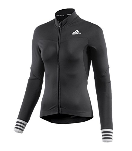 adidas Women's Cycling Jersey Adistar CD Zero 3 Long Sleeve - Black - Cycling Outlet Jersey