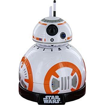 Star Wars: Rise of Skywalker BB-8 Kitchen Timer - With Lights and Sounds from the Movies