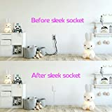 Sleek Socket Thin Electrical Outlet Childproofing