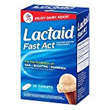 Lactaid, Fast Act Caplets, 96 HMQEZZ Count (Pack of 4)