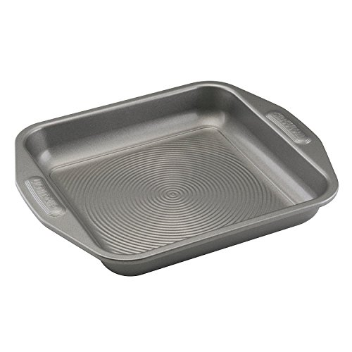 New 9 Inch Gray Square Non Stick Steel Baking Cake Pan with Kitchen Tools Combo