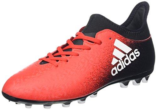 adidas X 16.3 Ag J, Zapatillas de Fútbol Unisex Niños Rojo (Red/ftw White/c Black)