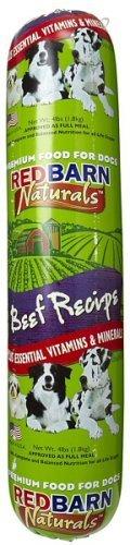Red Barn Beef Dog Food Roll 4Lb