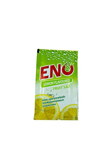 30 Packs of ENO Sparkling Antacid Relief (Lemon Flavoured, Fruit Salt) for Indigestion, Flatulence. (4.3 G/ Pack).