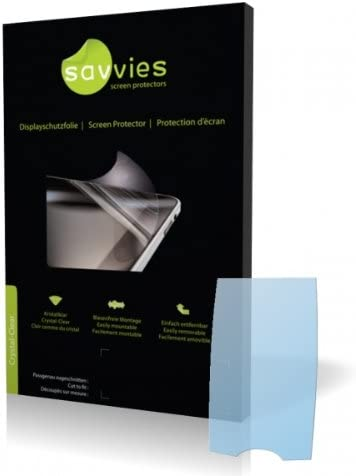 Display Protection Film 100/% fits Protective Film Savvies Crystalclear Screen Protector for Siemens CX75,CX 75