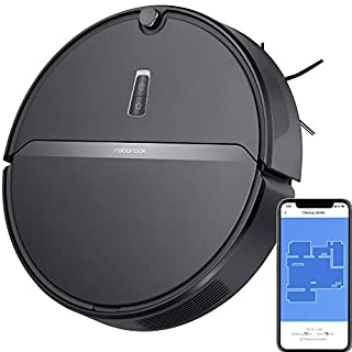 Roborock E4 Robot Vacuum Cleaner, Internal Route Plan with 2000Pa Strong Suction, 150min Runtime, Carpet Boost, APP Total Control, Ideal for Pets and Larger Home, Works with Alexa