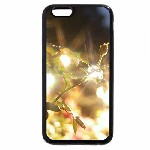 iPhone 6S / iPhone 6 Case (Black) Shiny Roses