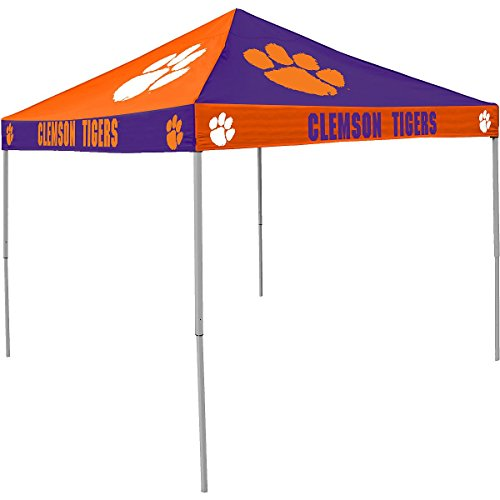 (Logo Brands NCAA CB Tent, Clemson, 9 foot X 9 foot )