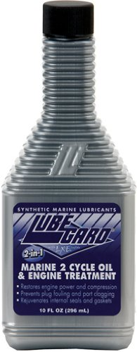 Lubegard 46910 Marine 2 Cycle Oil and Engine Treatment, 10 fl. oz.