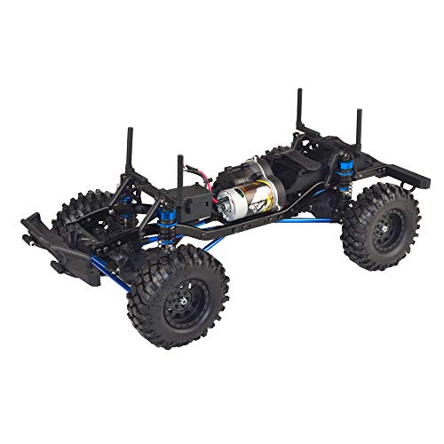 VRX Racing MC28 1/10 Crawler Kit with 550 High Torque Motor, Steel Frame, No Battery/ESC/Servo/Radio