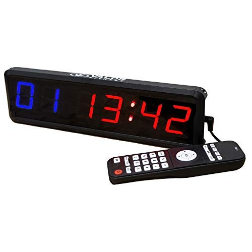 Multifunction digital countdown clock digits crossfit timer