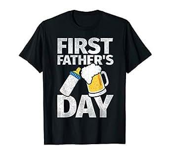 Amazon.com: playera de primer día del padre regalos para ...