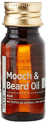 Ustraa Mooch and Beard Oil 4×4 – 35 ml
