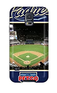 8548491K936290701 san diego padres MLB Sports & Colleges best Samsung Galaxy S5 cases