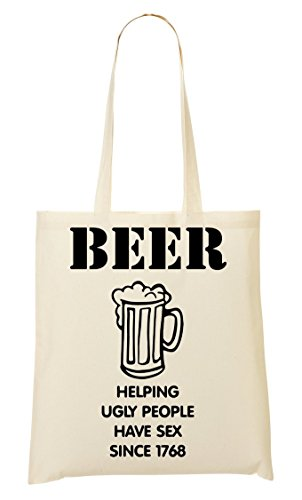 La Helping De CP Ugly Bolso De Compra Mano Bolsa Beer fUq8qxW6n