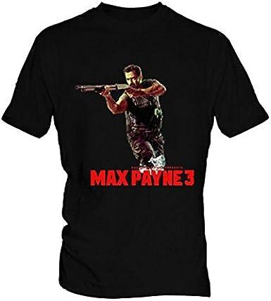 Hueley Max Payne 1 Black Men S T Shirt Amazon Co Uk Clothing