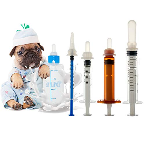 - Pet Feeding Bottle. Pet Syringe. Pet Puppy Bottles. Dog and cat Feeding Bottle and Wild Animal Silicone Nipples (Feeding Tool)