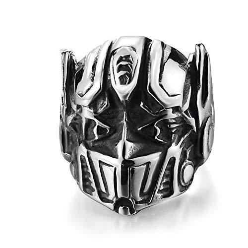 Optimus Prime Ring (Guraxi 2019 Men's Stainless Steel Personality Optimus Prime Ring, Size)
