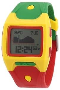 Nixon A5301114-00 - Reloj digital de cuarzo para hombre con correa de plástico, color multicolor