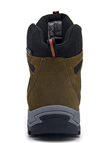 homme Extérieure Non Trekking Marche Homme Semelle Femme slip Chaussures Imperméable De Marron Knixmax Randonnée xw6O1RqS