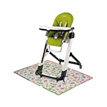 Peg Perego Siesta High Chair with Splat Matt - Mela by Peg Perego