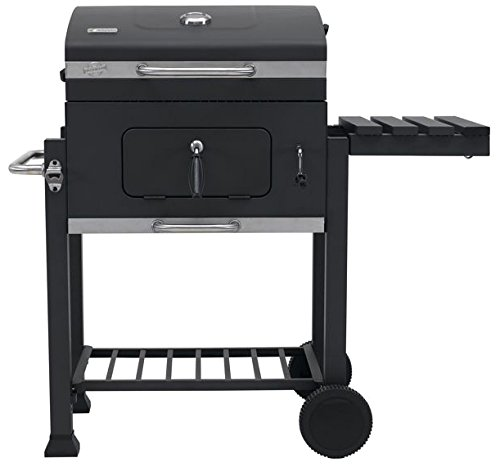 Tepro Trolley BBQ Toronto Click, Anthracite/Stainless Steel, one Size