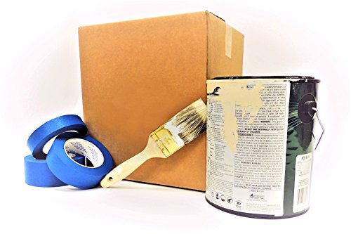 Blue Painter's Tape | 3/4 inch x 60 Yard | Full Case of 64 Rolls | Made in USA | Multi-Use, Clean Release & Removal, Premium Grade Blue Painters Masking ()